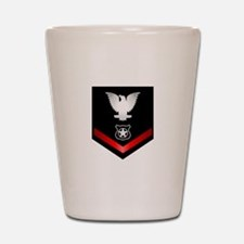 Navy PO3 Master at Arms Shot Glass