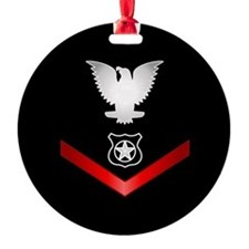 Navy PO3 Master at Arms Ornament