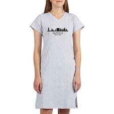 Nashville Skyline Women's Nightshirt