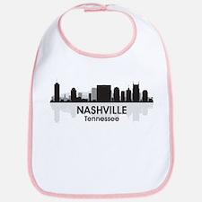 Nashville Skyline Bib
