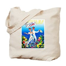 Cuba Travel Poster 11 Tote Bag