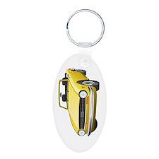 Aluminum Oval Keychain - TR6