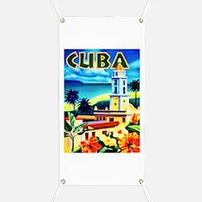 Cuba Travel Poster 6 Banner