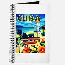 Cuba Travel Poster 6 Journal