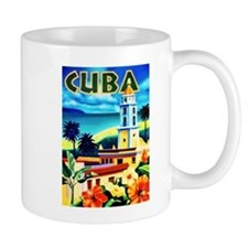 Cuba Travel Poster 6 Mug