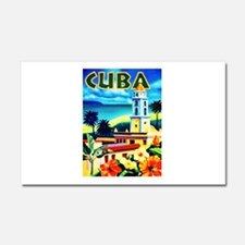 Cuba Travel Poster 6 Car Magnet 20 x 12