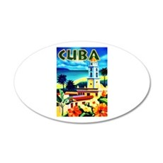 Cuba Travel Poster 6 Wall Decal