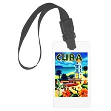 Cuba Travel Poster 6 Luggage Tag