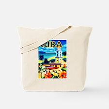 Cuba Travel Poster 6 Tote Bag