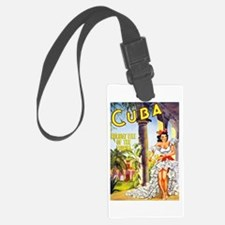 Cuba Travel Poster 1 Luggage Tag