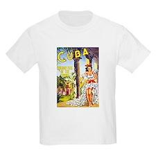 Cuba Travel Poster 1 T-Shirt