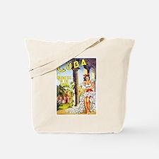 Cuba Travel Poster 1 Tote Bag