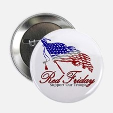 """Red Friday Support 2.25"""" Button"""