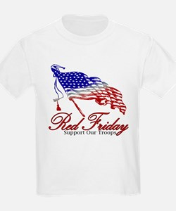 Red Friday Support T-Shirt