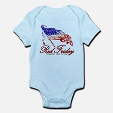Red Friday Support Infant Bodysuit