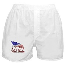 Red Friday Support Boxer Shorts
