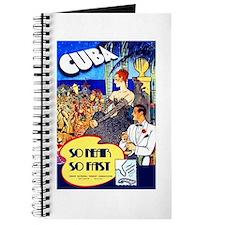 Cuba Travel Poster 8 Journal