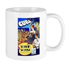 Cuba Travel Poster 8 Mug