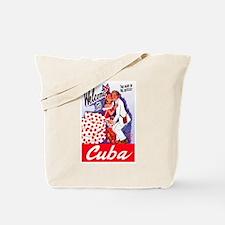 Cuba Travel Poster 5 Tote Bag