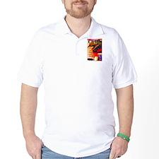Cuba Travel Poster 3 T-Shirt