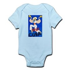 Cuba Travel Poster 2 Infant Bodysuit