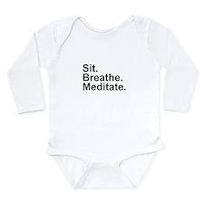 Cute Nirvana Long Sleeve Infant Bodysuit