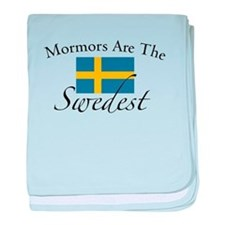 Mormors are the Swedest baby blanket
