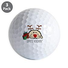 Life's Golden Rudolph Golf Ball