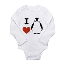 I love Penguins Onesie Romper Suit