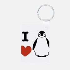 I love Penguins Keychains