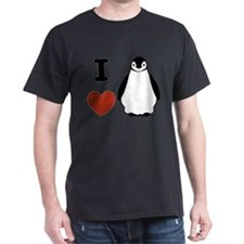 I love Penguins T-Shirt
