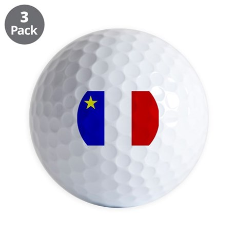 Acadian Stuff Golf Balls