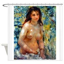Renoir - Effect of Sunlight Shower Curtain