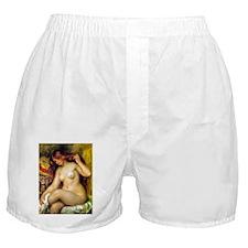 Renoir - Bather with Blonde Hair Boxer Shorts