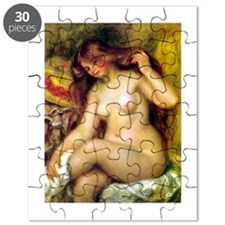 Renoir - Bather with Blonde Hair Puzzle