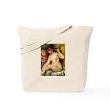 Renoir - Bather with Blonde Hair Tote Bag