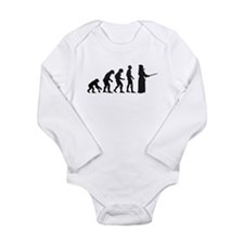 Kendo Evolved Long Sleeve Infant Bodysuit