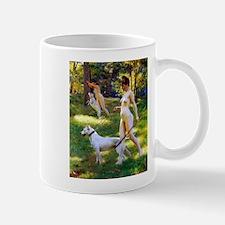 Nude Stewart Nymphs Hunting Mug