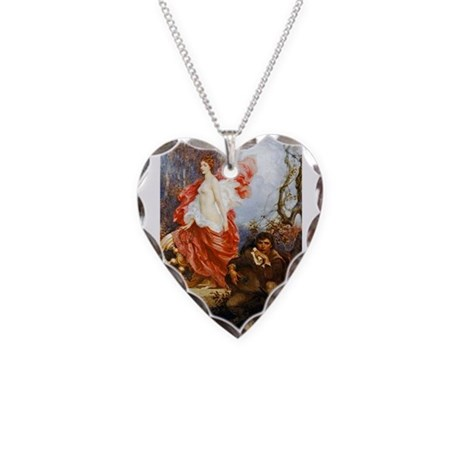 Draper - Art and the Jade Necklace Heart Charm