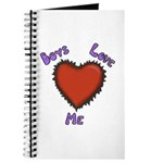 Boys Love Me Journal