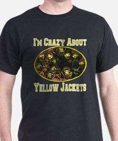 Im Crazy About Yellow Jackets T-Shirt
