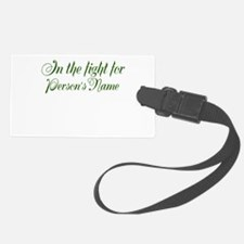 Personalize Stop Liver Cancer Luggage Tag