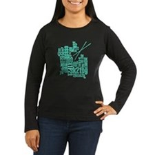 Knitting Abbreviation Cloud T-Shirt