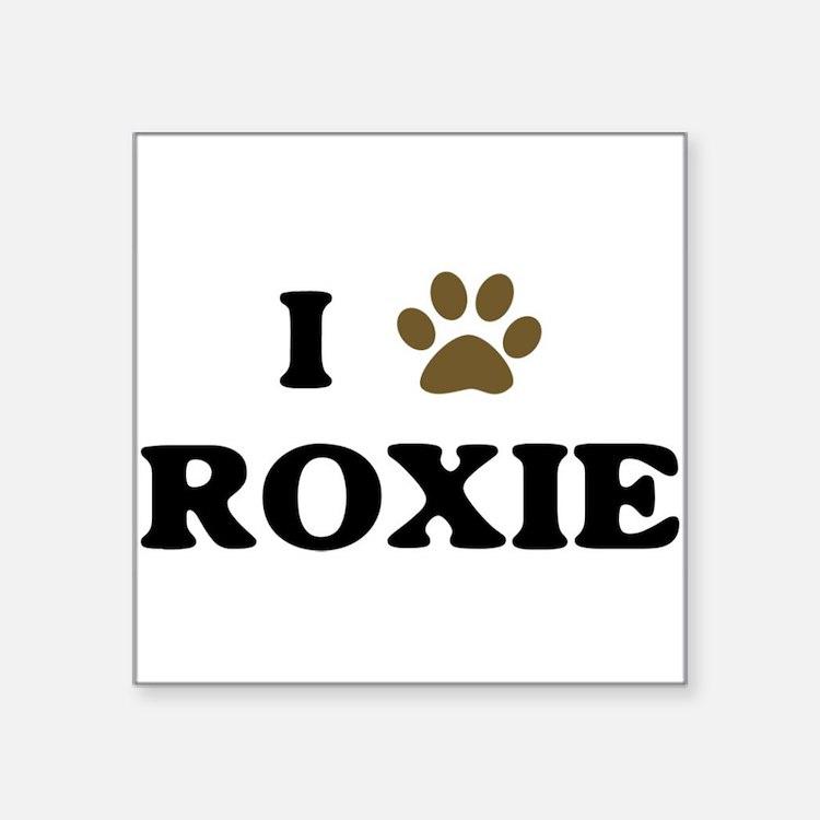 Roxie.jpg Sticker