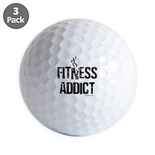 FITNESS ADDICT Golf Ball