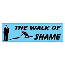 The Walk Of Shame Custom Bumper Sticker