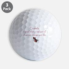 Cinderella is Proof Golf Ball