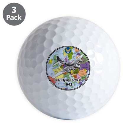 B-17 Flying Fortress WW2 Golf Balls