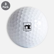 Sewing Machine - True Love Golf Ball