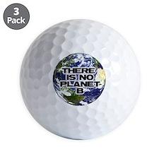 No Planet B Golf Ball